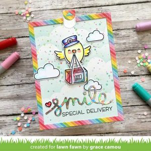 Lawn Fawn Special Delivery Box Add-On class=