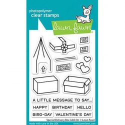 Lawn Fawn Special Delivery Box Add-On