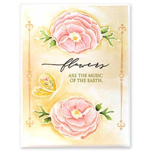 Penny Black Blooms Stamp Set class=