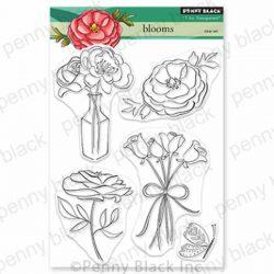 Penny Black Blooms Stamp Set