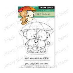 Penny Black Rain or Shine Stamp