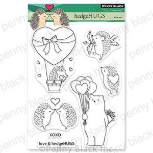 Penny Black HedgeHUGS stamp set