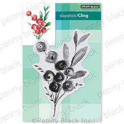 Penny Black Rosa Slapstick/Cling Stamp