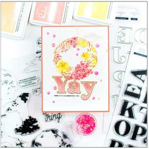 Pinkfresh Studio Heather Lowercase Stamp Set class=