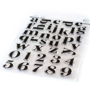 Pinkfresh Studio Heather Lowercase Stamp Set