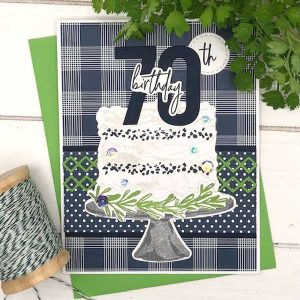 Papertrey Ink Just Sentiments: Milestones Stamp class=