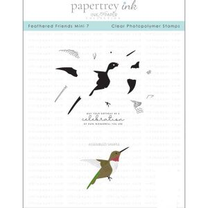 Papertrey Ink Feathered Friends Mini 7 Stamp