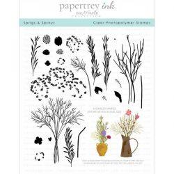 Papertrey Ink Sprigs and Sprays Stamp