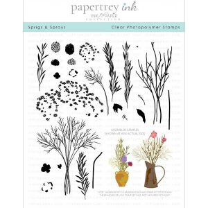Papertrey Ink Sprigs and Sprays Stamp