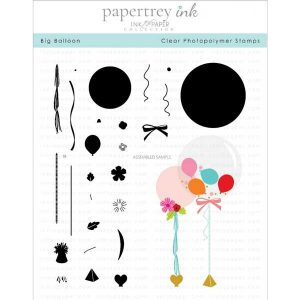 Papertrey Ink Big Balloon Stamp