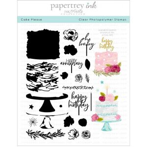 Papertrey Ink Cake Please Stamp