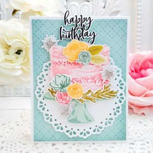 Papertrey Ink Cake Please Stamp class=