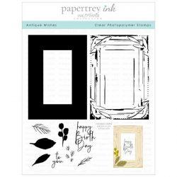 Papertrey Ink Antique Wishes Stamp