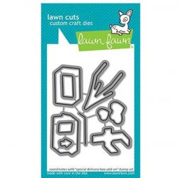 Lawn Fawn Special Delivery Box Add-On Lawn Cuts