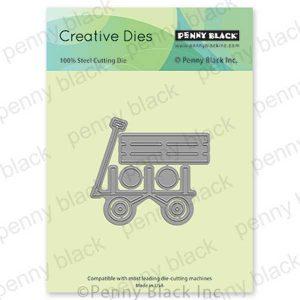 Penny Black Wagon Ride Creative Dies