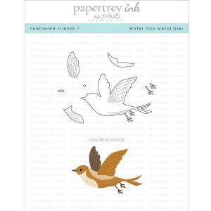 Papertrey Ink Feathered Friends 7 Die