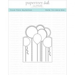 Papertrey Ink Cover Plate: Big Balloon Die