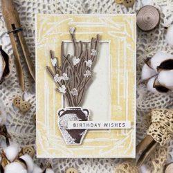 Papertrey Ink Antique Wishes Dies