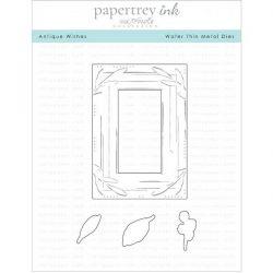 Papertrey Ink Antique Wishes Die