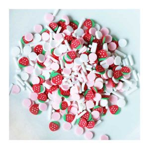 Dress My Craft Shaker Elements - Strawberry Confetti Mix