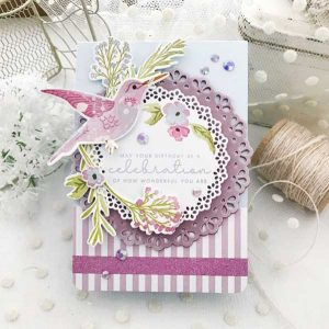 Papertrey Ink Feathered Friends Mini 7 Stamp class=