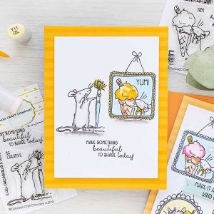 Colorado Craft Company Be Creative Mini Stamp class=