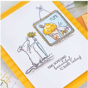 Colorado Craft Company Ice Cream Day Mini Stamp class=