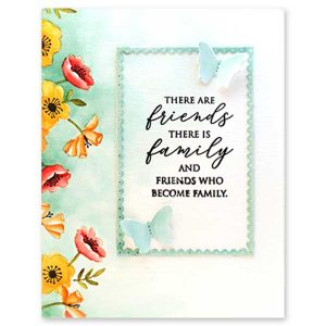 Penny Black Friendship Sentiments Stamp Set class=