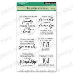 Penny Black Friendship Sentiments Stamp Set