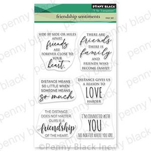 Penny Black Friendship Sentiments Stamp Set