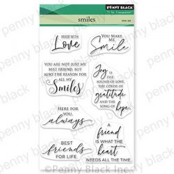 Penny Black Smiles Stamp Set