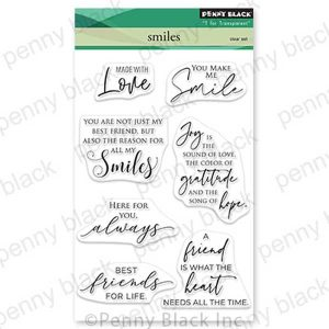 Penny Black Smiles Stamp Set
