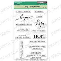 Penny Black Hope Sentiments Stamp Set