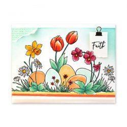 Penny Black Spring Day Stamp
