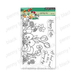 Penny Black Spring Day Stamp