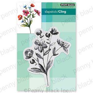 Penny Black Garden Variety Stamp