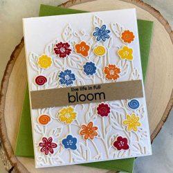 Papertrey Ink Just Sentiments Bloom Stamp