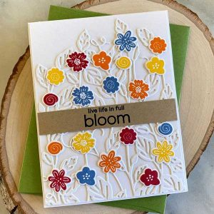 Papertrey Ink Just Sentiments: Bloom Stamp class=