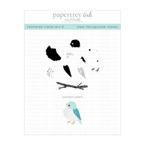 Papertrey Ink Feathered Friends 8 Mini Stamp