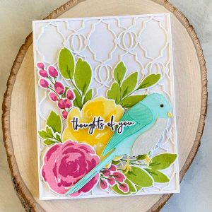 Papertrey Ink Effortless Beauties Stamp class=