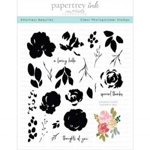 Papertrey Ink Effortless Beauties Stamp