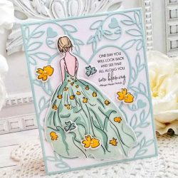 Papertrey Ink She Blooms Stamp