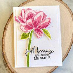 Papertrey Ink Lush Bloom Stamp