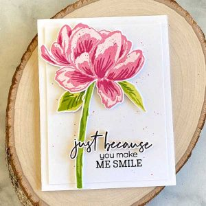 Papertrey Ink Lush Bloom Stamp class=