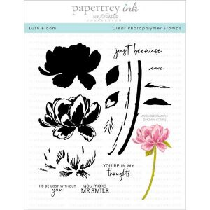 Papertrey Ink Lush Bloom Stamp
