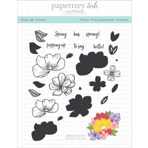 Papertrey Ink Pop-up Florals Stamp