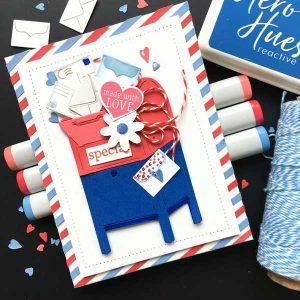 Hero Arts US Mailbox Fancy Die class=