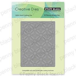 Penny Black Geometric Circles Creative Die