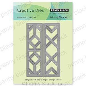 Penny Black Geometric Frames Creative Dies