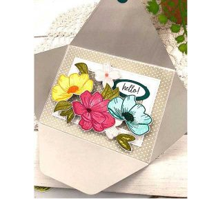 Papertrey Ink Pop-up Florals Dies class=
